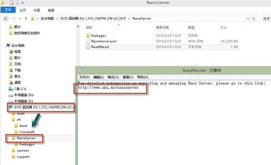 Windows Server Nano 安装